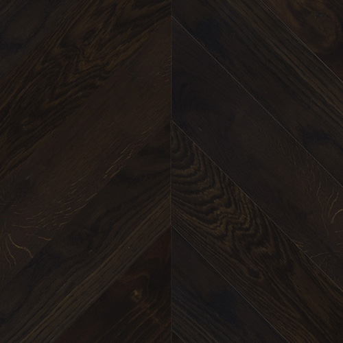 Oak smoked rustic Chevron